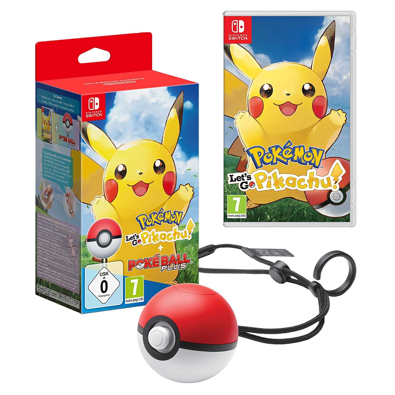 Pokémon: Let's Go, Pikachu! + Pokéball Plus - [Nintendo Switch] für 79€