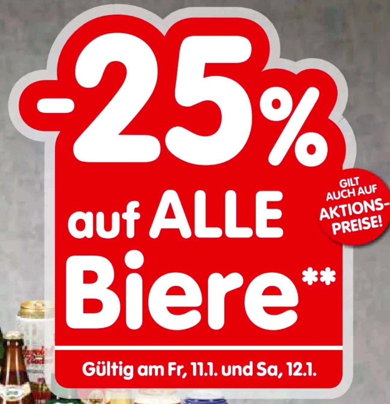 [Spar | Interspar] -25% auf Bier