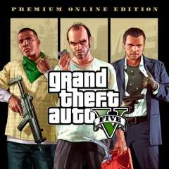 (PS4) GTA 5 - Grand Theft Auto V - Premium Online Edition