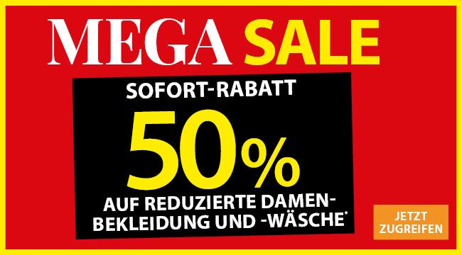 NKD -50% auf Reduzierte Damenbekleidung