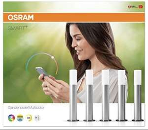 Osram Smart+ Gardenpole Multicolor LED Gartenleuchte (5er Set) für 40,33€