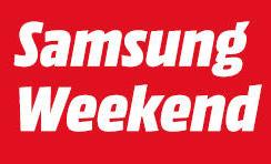 """MediaMarkt """"Samsung Weekend"""" Angebote - bis 14.1.2019"""