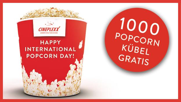 [Cineplexx] GRATIS Popcorn Kübel am 19.01