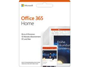Office 365 Home 6 User 1 Year