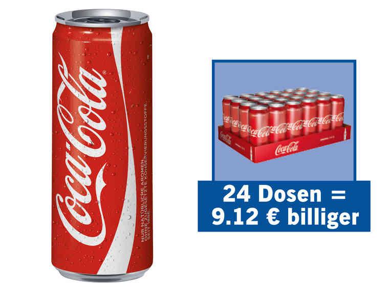 LIDL | Coca-Cola / Zero 24x 0,33l nur am Mi 23.01.