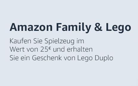 [Amazon] Gratis Lego Duplo Geschenk Family Promotion
