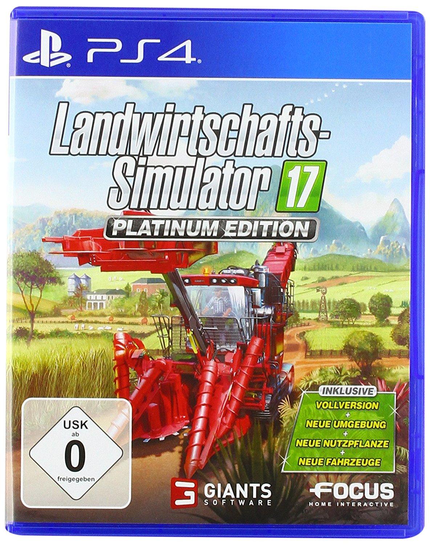[Amazon] Landwirtschafts-Simulator 17: Platinum Edition (PS4)