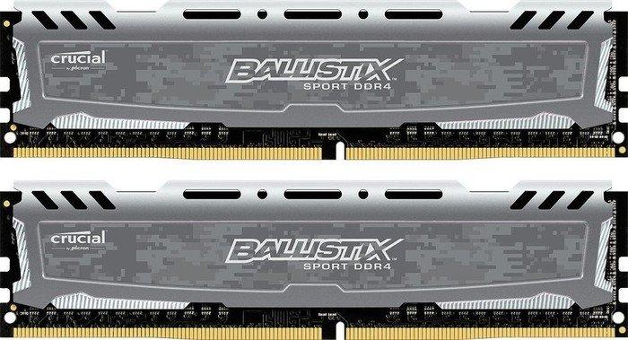 [Amazon.co.uk] Crucial Ballistix Sport LT 8GB Kit, DDR4-2400, CL16-16-16
