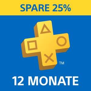 Playstation Plus 12 Monate Abo