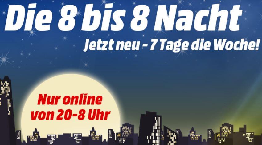 [Media Markt] 8 bis 8 Aktion - Haushaltsgeräte (Staubsauger, Kühlschränke, ...)