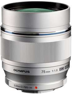 Preisfehler? Olympus M.Zuiko Digital ED 75mm f1.8 für 425€ - Objektiv für Micro Four Thirds Objektivbajonett