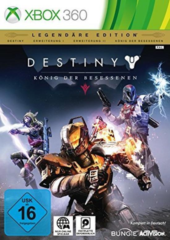 [Gamestop WienSCS/WienArcadeMeidling] Destiny König der Besessenen - Legendäre Edition für Xbox 360 um 1 Cent