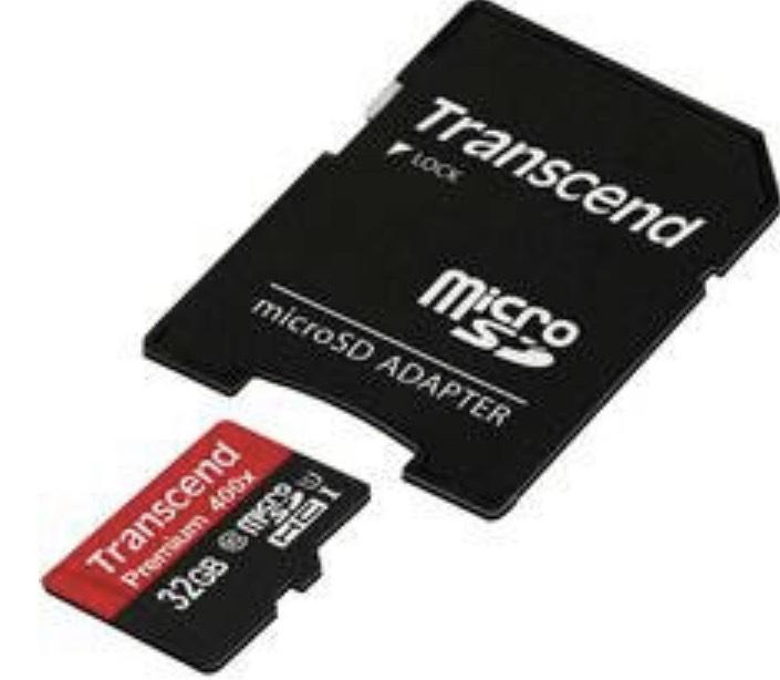 Transcend Premium 400x microSDHC-Karte 32 GB Class 10, UHS-I inkl. SD-Adapter für 2,99€ (MBW 14,99€)