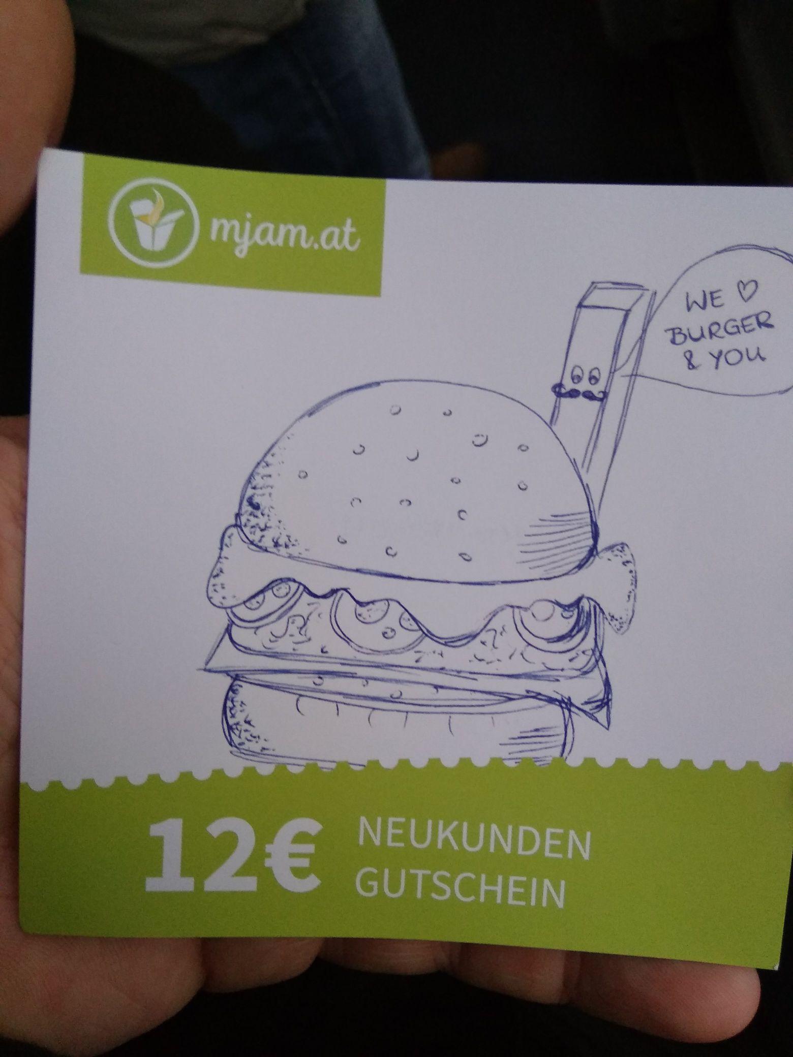 (fetter Preisjäger) 12€ Neukunden-Gurschein für mjam