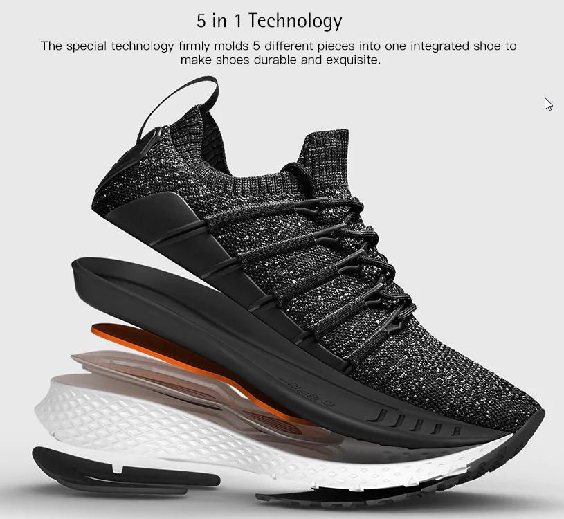 [Gearbest] Xiaomi Mijia 2 Fishbone Sneaker für 40,71€