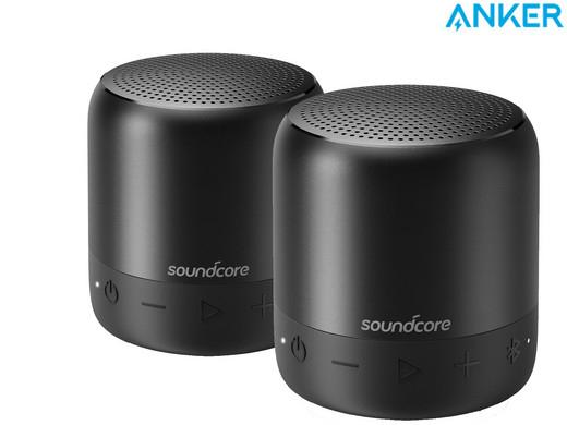 [IBood] 2er Pack Anker Soundcore Mini 2 Bluetooth-Lautsprecher für 55,90€ (statt 89,28€)