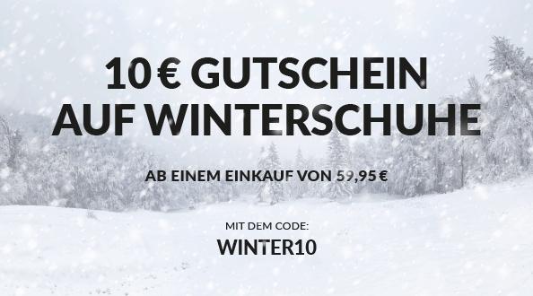 Humanic - 10 € Sofort-Rabatt auf Winterschuhe ab 59,95 €