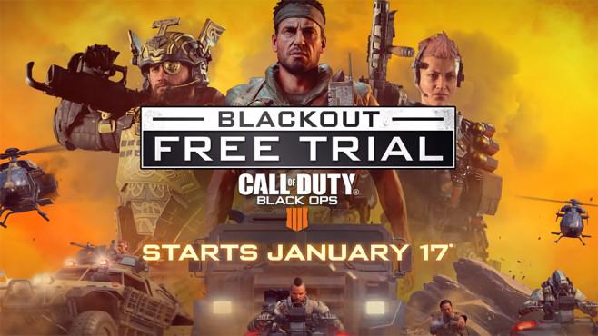 "Call of Duty: Black Ops 4 ""Blackout"" Modus - ab sofort GRATIS - bis 24.1.2019, 19 Uhr"