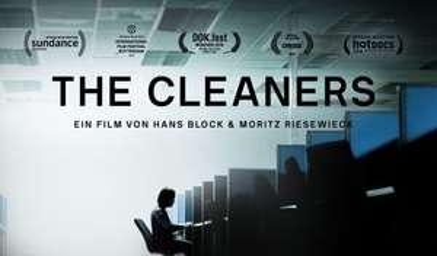 """Kostenlos: Doku """"The Cleaners/Im Schatten der Netzwelt"""""""