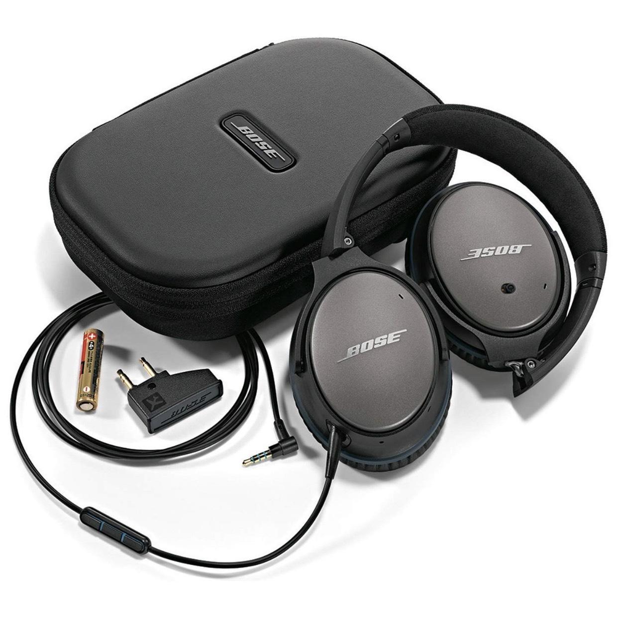 Bose QuietComfort 25 Acoustic Noise Cancelling Kopfhörer (geeignet für Apple-Geräte)