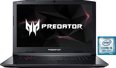 """Acer Predator Helios 300 17,3"""" FHD GTX1050 Ti 4GB, i5-8300H, 8GB RAM, 128GB SSD, 1TB HDD"""