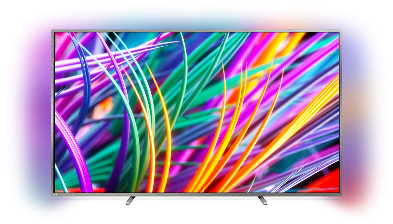 www.AMAZON.de l Philips 49PUS8303/12 123 cm (49 Zoll) Nano-LED (3-fach Ambilight, 4K Ultra HD, Triple Tuner, Smart Fernseher)