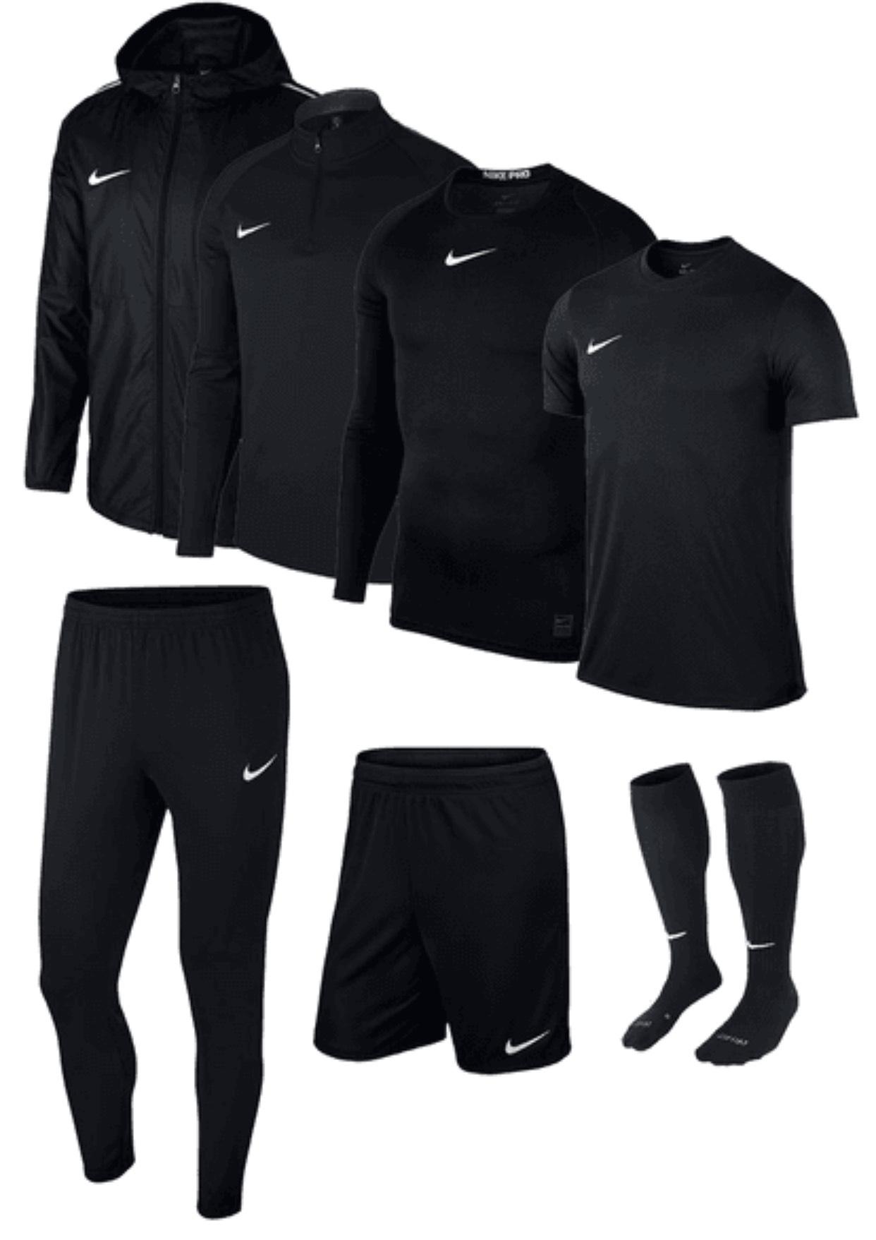 Nike Trainingsset Academy 18 7-teilig, verschiedene Farben für 99,95€