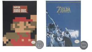 Super Mario/ The Legend of Zelda - Sammelmünzen Album  für 3,96