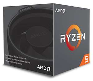 [Amazon] AMD Ryzen 5 2600, 6x 3.40GHz, boxed