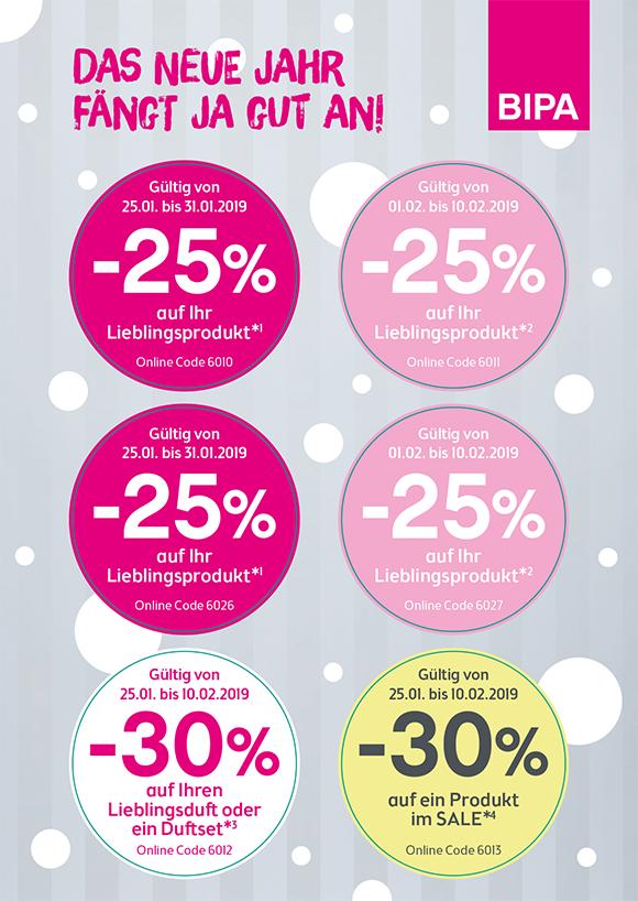 Bipa 30% auf ein Sale Produkt