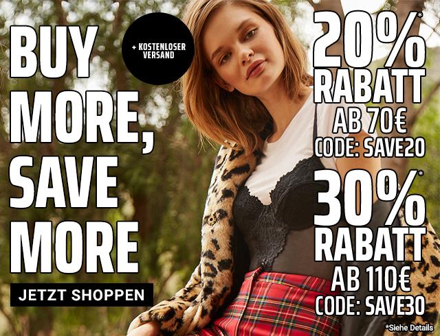 Forever21.com 20% - 30% Rabatt online - nur mehr bis heute !