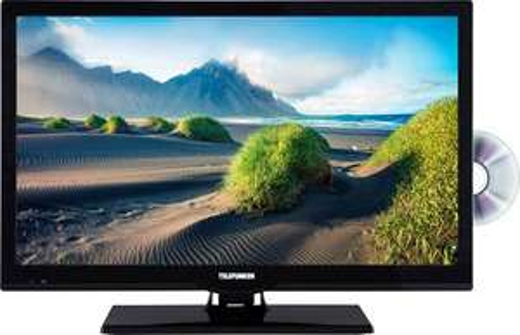"Telefunken L22F275M4DI LED-TV 56 cm 22"" / DVB-T2, DVB-C, DVB-S, Full HD, DVD-Player, CI+"