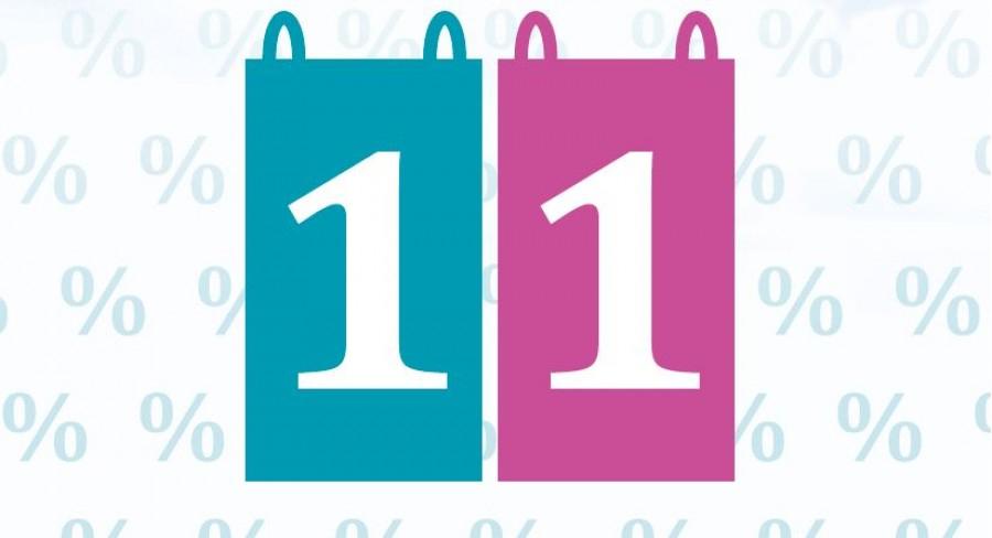 Reminder: Huma Eleven Aktionen/Rabatte am 11. jedes Monats (Wien)