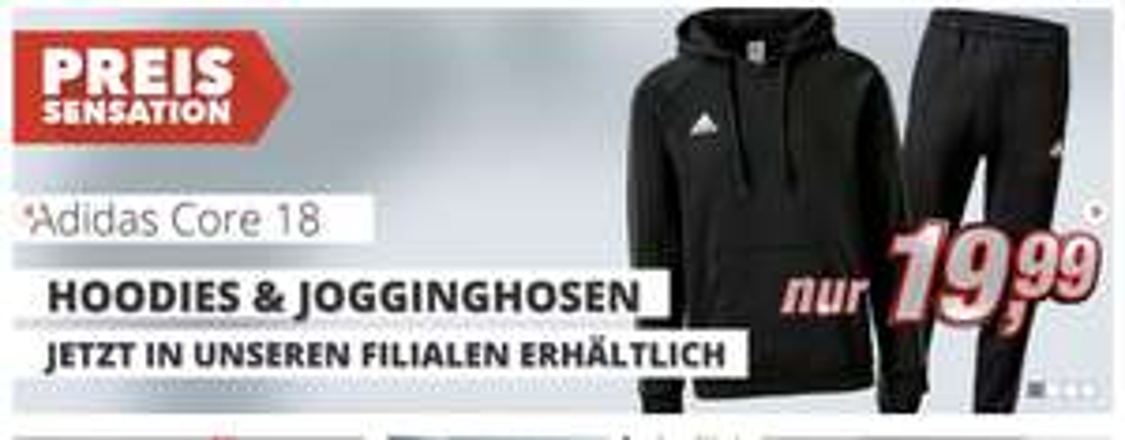 Adidas Core 18 Jogginghose / Hoodies