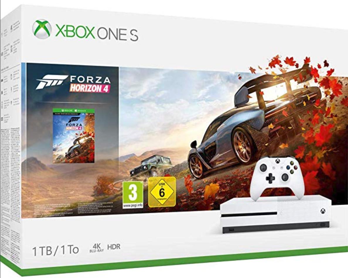 Xbox One S 1 TB-Paket - Forza Horizon 4 bei amazon.fr für 188,05EUR mit Versand