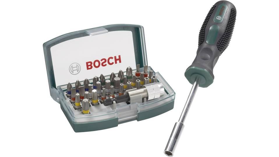 GetGoods: Bosch 32-teiliger Bithalter-Schraubendrehersatz (ab 14,99 € Bestellung)