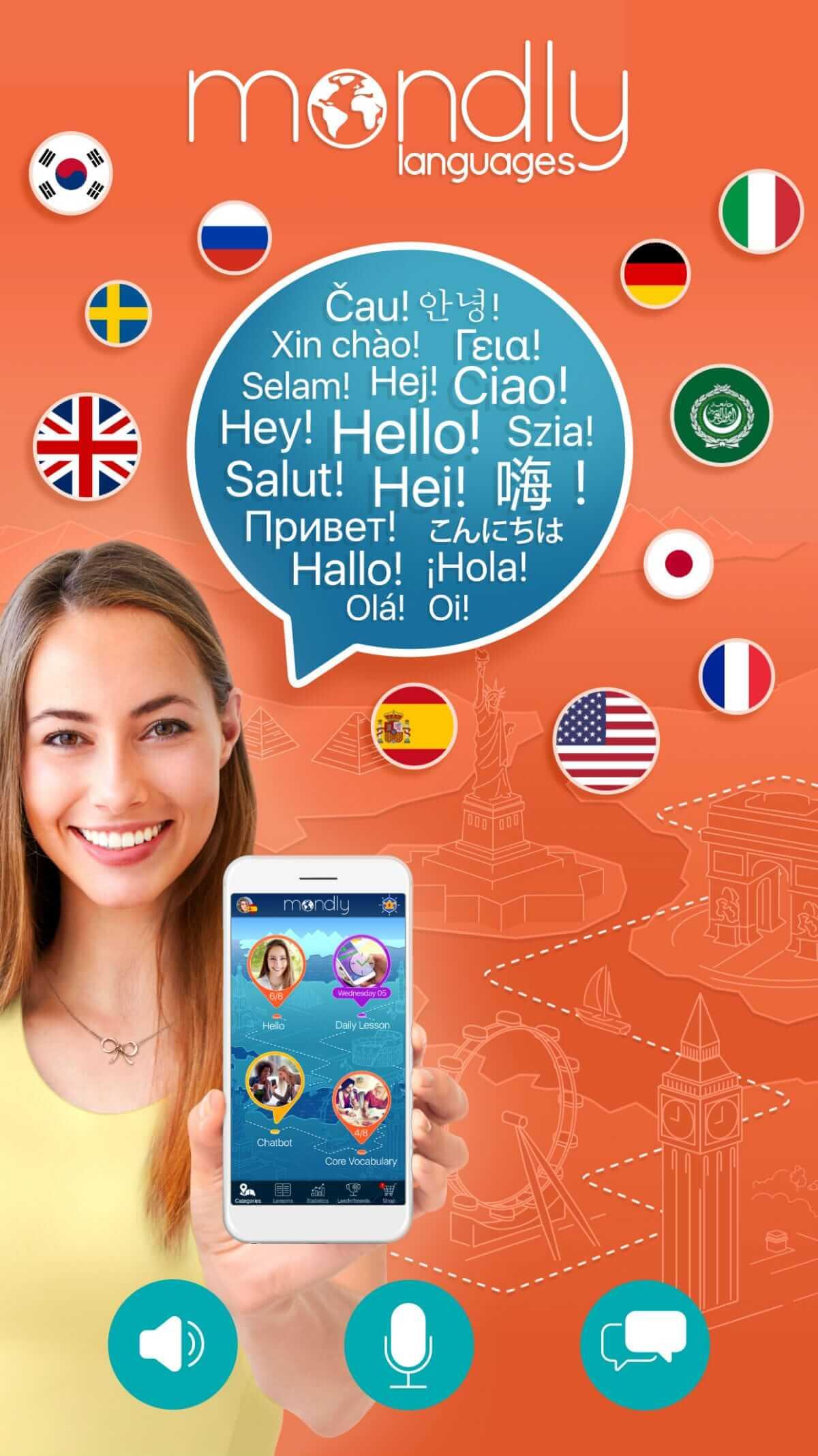 Alle Mondly Sprachkurse lebenslang nur 89,99 Euro