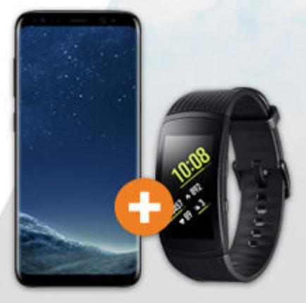 [Saturn.at] Samsung Galaxy S8 und Gear Fit2 Pro für 377 Euro