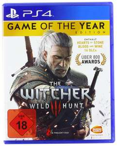 [Amazon] The Witcher 3: Wild Hunt - Game of the Year Edition (PS4 / XBOX One)