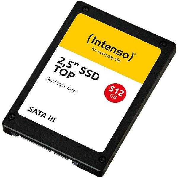 512GB SSD Intenso - Gutschein + Lieferung in Paketshop