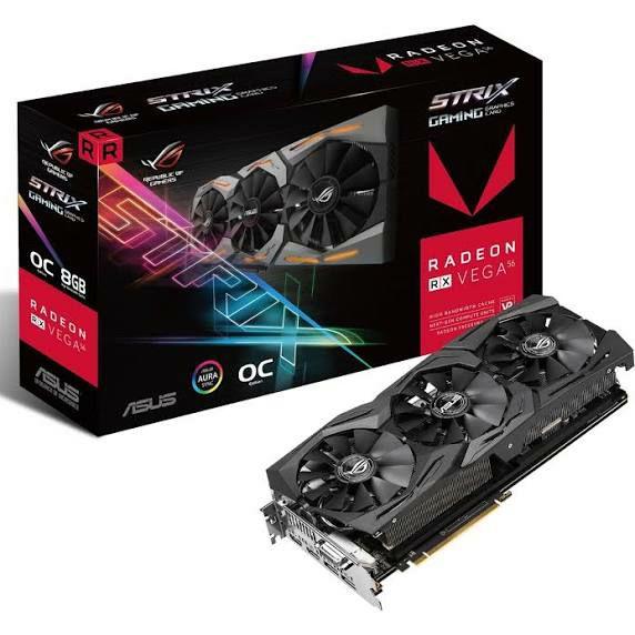 ASUS ROG Strix Radeon RX Vega 56 OC Gaming
