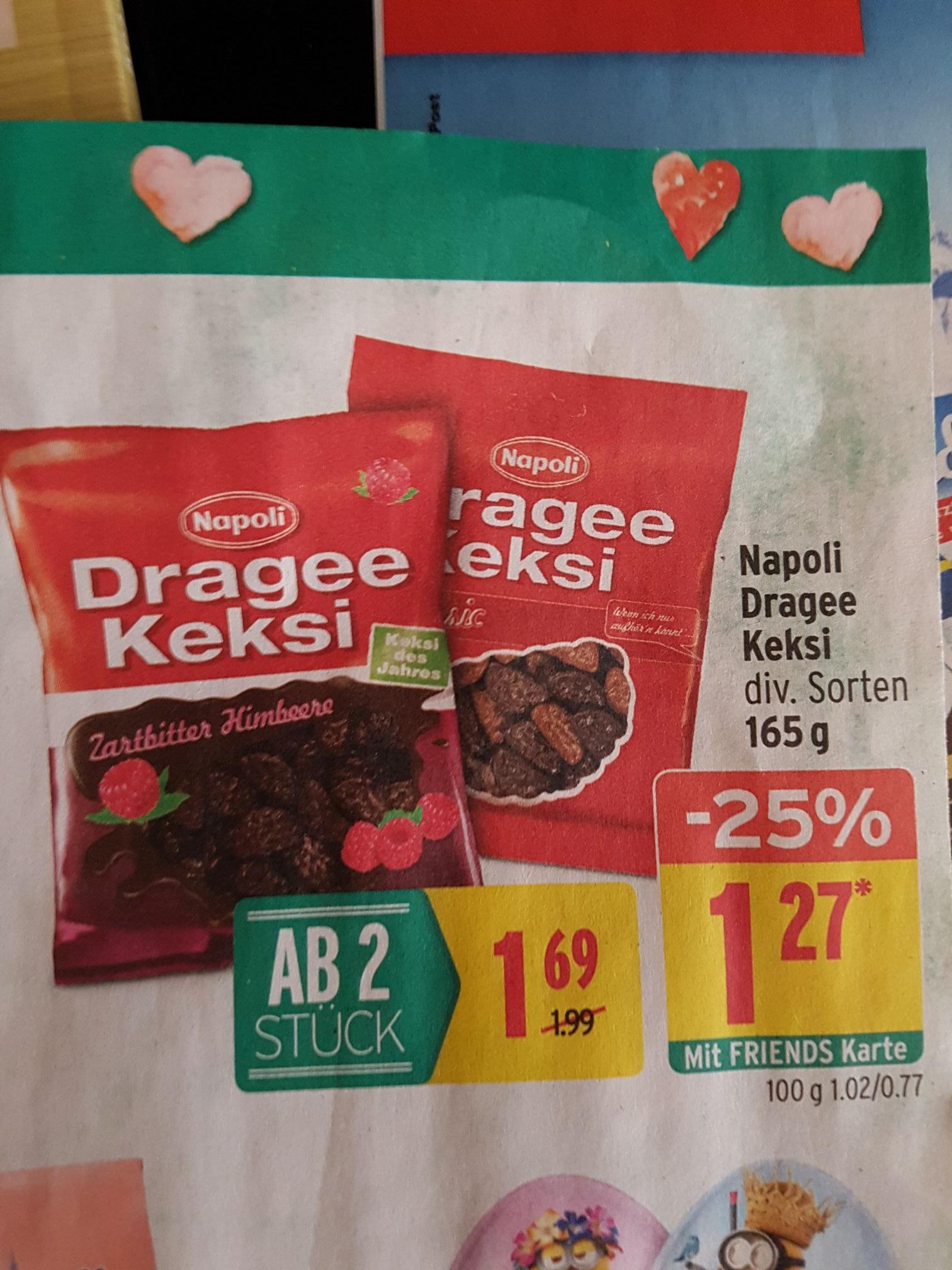 Merkur + Marktguru: Dragee Keksi mit Cashback um 0,77 €