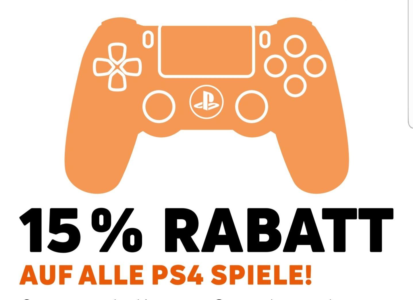[Müller] -15% auf alle PS4-Spiele