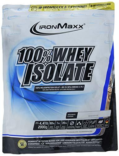 IronMaxx 100% Whey Isolate Banane 2kg