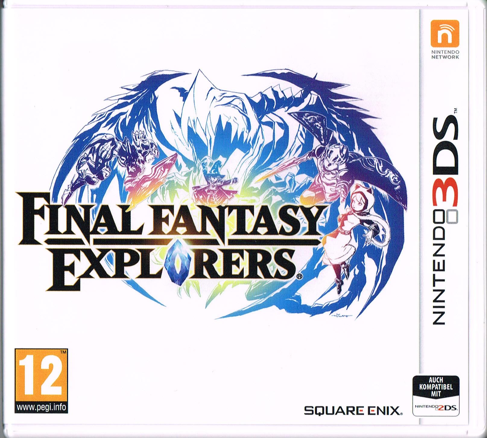 Final Fantasy Explorers (Nintendo 3DS) für 18,89€