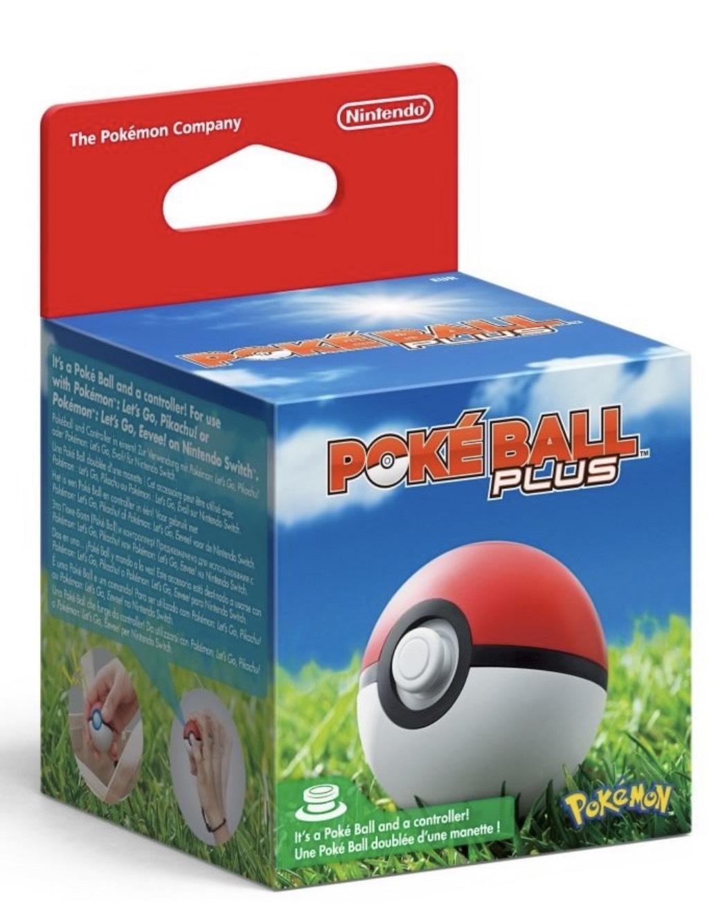 Nintendo Pokéball Plus für 25,21€