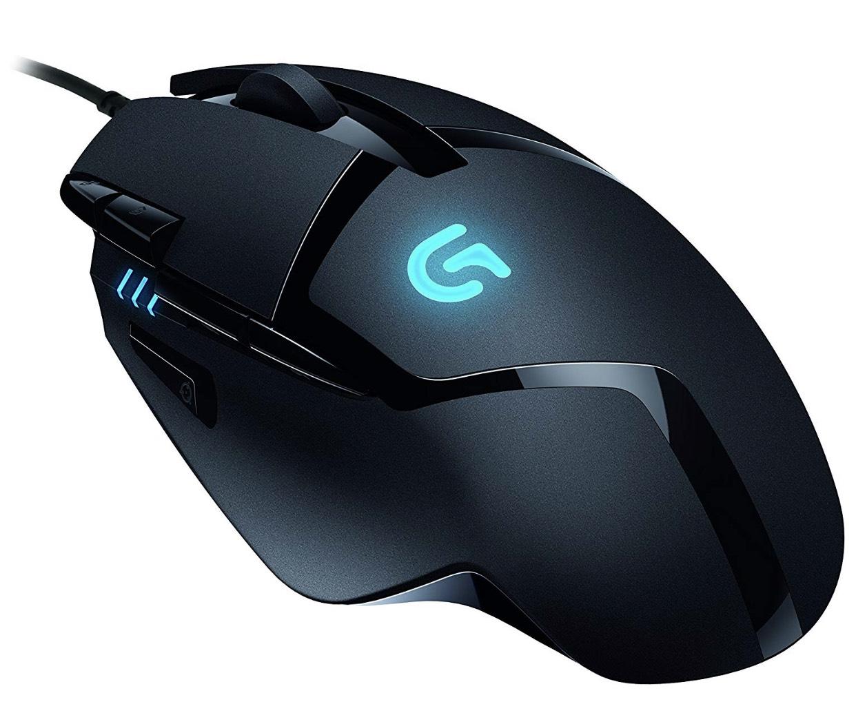 Logitech G402 Gaming-Maus Hyperion Fury (mit 8 programmierbaren Tasten) schwarz für 22,19