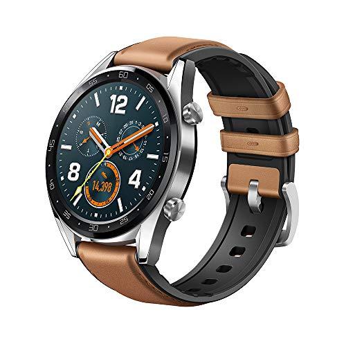 """HUAWEI Watch GT Smartwatch, 1,39"""" AMOLED Touchscreen GPS Fitness Tracker Herzfrequenzmessung,5 ATM wasserdicht für 139€"""