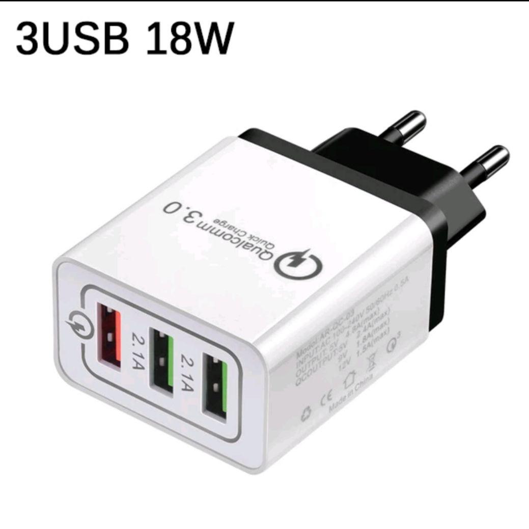 3-fach USB Schnellladegerät bei Aliexpress