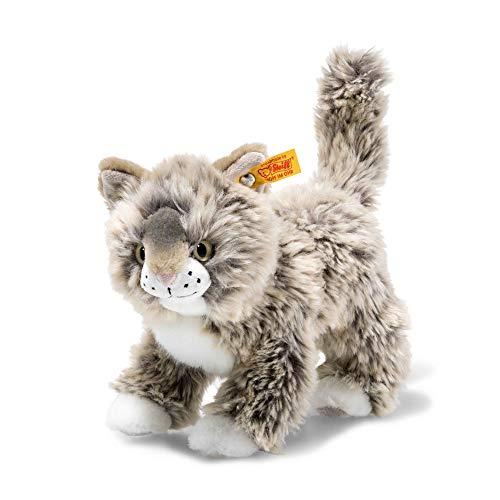 Steiff Katze (schönes Fell, entstellte Fratze)